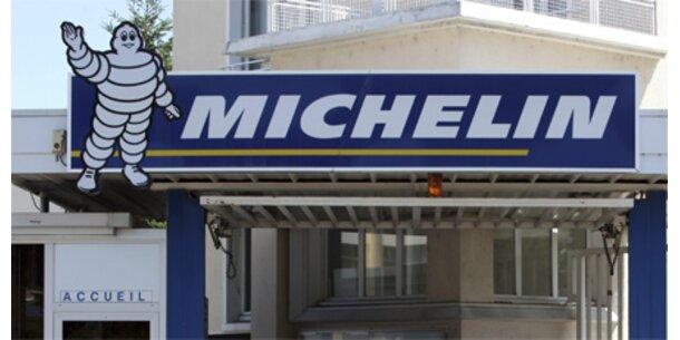 Michelin-Mitarbeiter sperren Manager ein