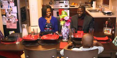 Michelle Obama trägt 35 Dollar Kleid