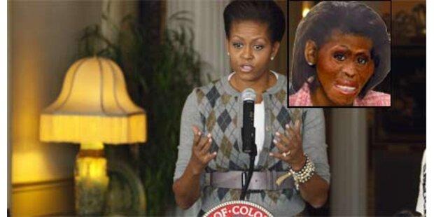 Michelle Obama Opfer von Rassisten