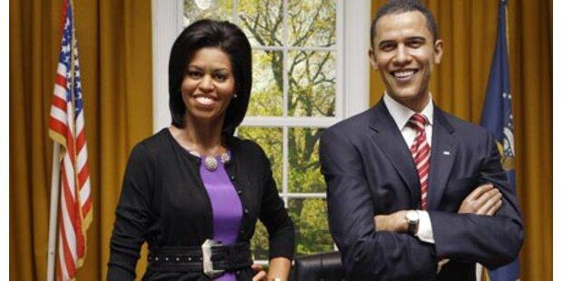 Michelle Obama bei Madame Tussauds