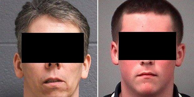 Vater und Sohn vergewaltigten Mädchen