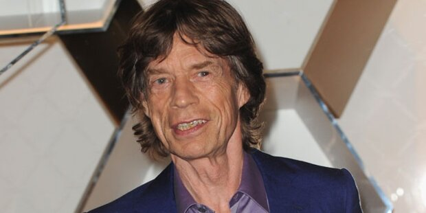 Mick Jagger wird Ur-Großvater