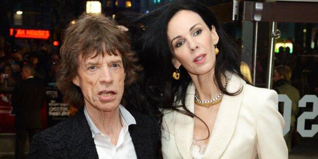 Jagger-Freundin: Selbstmord aus Liebe