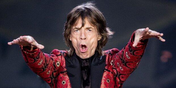 Mick Jagger gönnte sich Eis mit Theresa May