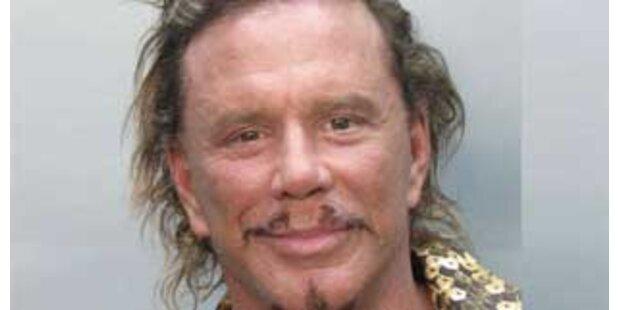 Alkohol am Steuer - Mickey Rourke verhaftet