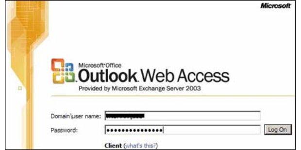 Spam-Warnung für Microsoft Outlook