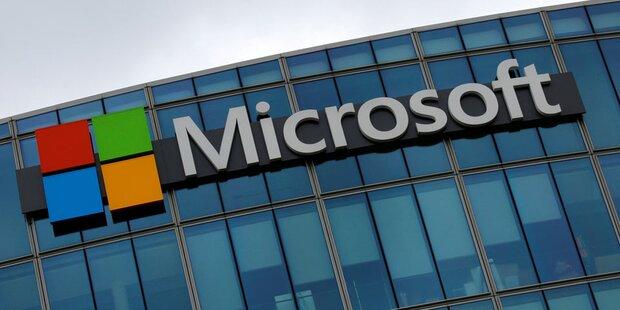 Microsoft schwebt auf