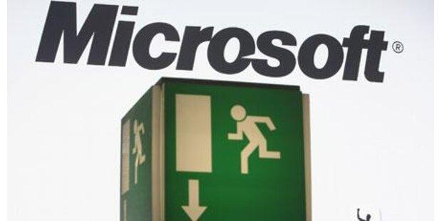 Verfahren gegen Microsoft eingestellt