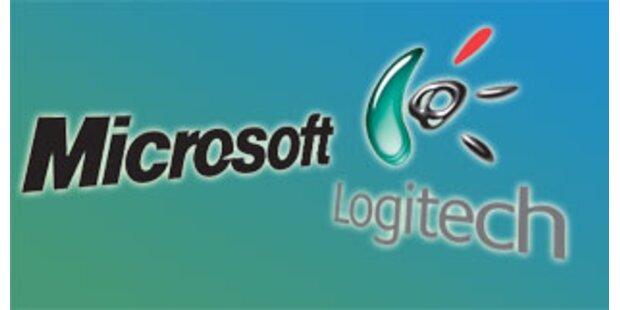 Gerüchte über Microsoft-Einstieg bei Logitech