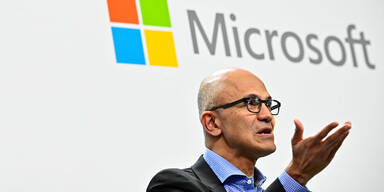 Cloud und Windows pushen Microsoft