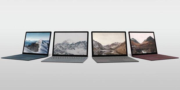 Surface Laptop in weiteren Varianten bestellbar