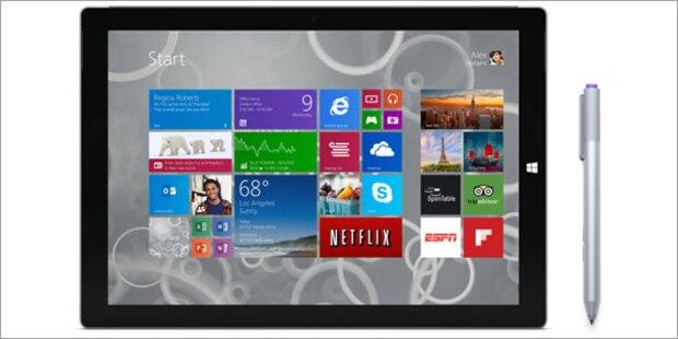 Surface Pro 3: Preise & Starttermin stehen fest