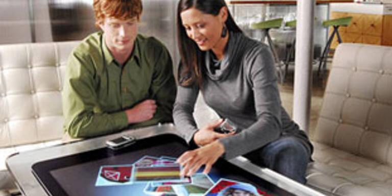 """Computer-Tisch """"Surface"""" kommt auf den Markt"""