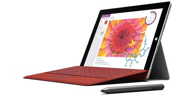 Günstiges Surface 3 greift iPad an