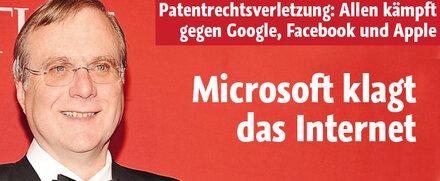 Microsoft-Gründer klagt das Internet