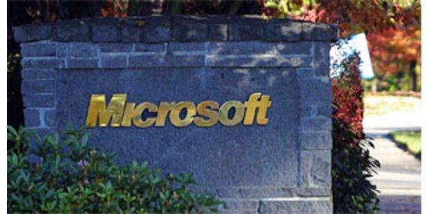 Microsoft mit Gewinn-Knick wegen Vista-Effekt