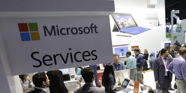 Microsoft top dank Cloud-Geschäft