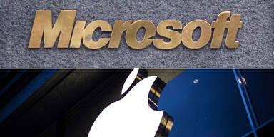 Apple und Microsoft verbünden sich