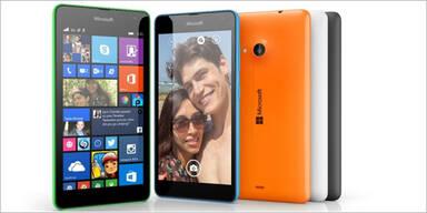 Lumia 535 ist erstes Microsoft-Smartphone