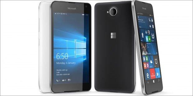 Microsoft schickt Lumia 650 ins Rennen