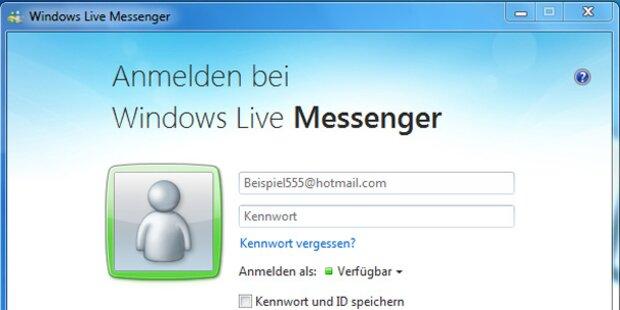 Microsoft dreht seinen Messenger ab