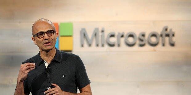 Microsoft knackt Billionen-Marke