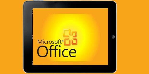 Microsoft Office-App für iPad kurz vor Start