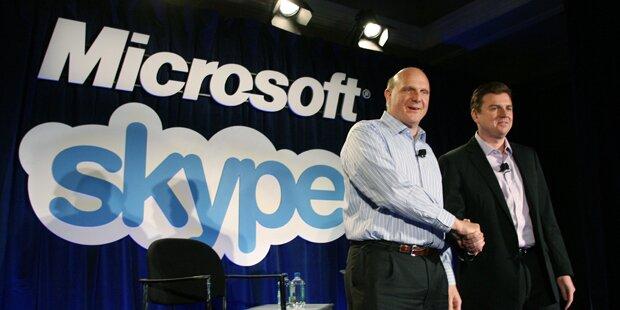 Microsoft kauft Skype um 8,5 Mrd. Dollar