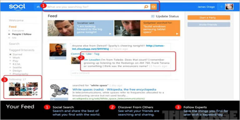 """Socl"": Microsoft bringt Facebook-Gegner"