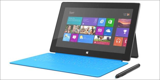 Microsoft-Tablet Surface Pro startet in Österreich