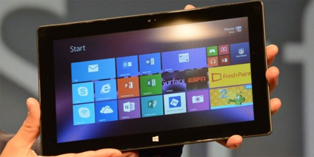 Surface RT: Microsoft zieht Windows 8.1 zurück