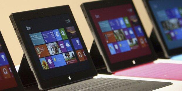 Windows 8: Microsoft will Tablets erobern