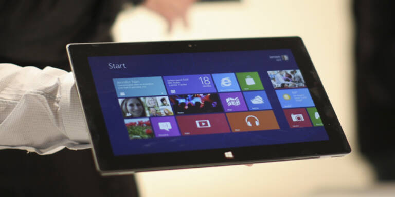 """Microsoft-Tablet """"Surface"""" mit Super-Cover"""