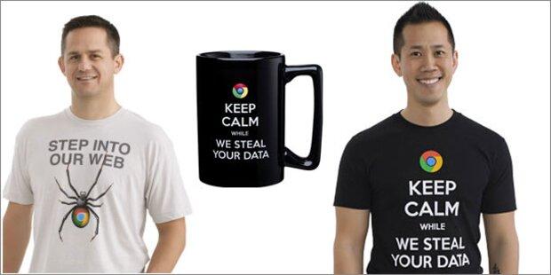 Microsoft verkauft Anti-Google-Kleidung