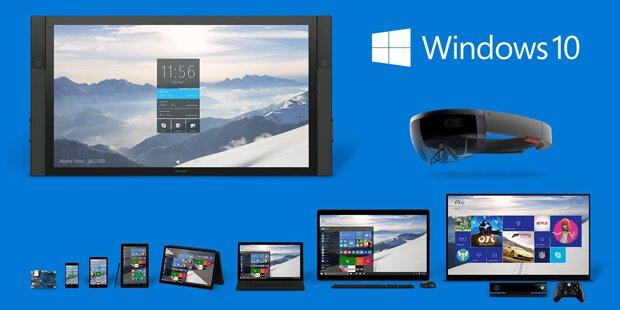 Kostenloses Windows 10 startet Angriff