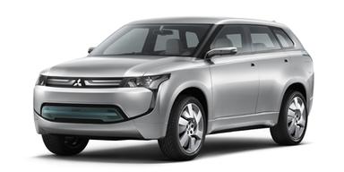 Crossover mit Plug-in Hybrid. Bild: Mitsubishi