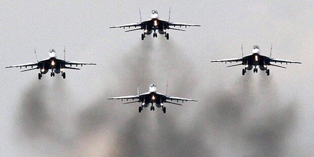 Russische Jets griffen Stellungen von US-Truppen an