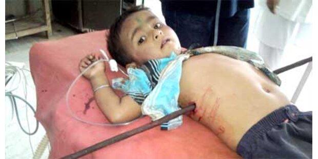Sechsjähriger Inder gepfählt