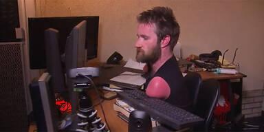 Profi-Gamer ohne Arme und Beine begeistert Fans