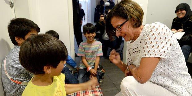 Mikl-Leitner auch für Asyl-Obergrenze