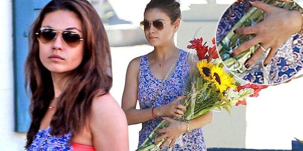 Mila Kunis: Ist das ein Verlobungs-Ring?