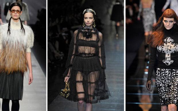 Mailands Designer zeigen starke Frauen