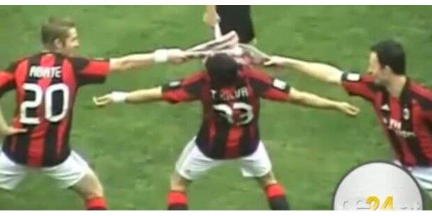 AC Milan Stars komplett verrückt