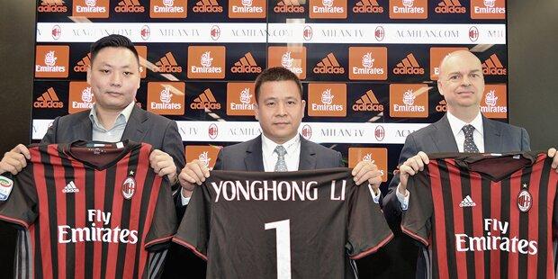 UEFA setzt Milan-Chinesen unter Druck