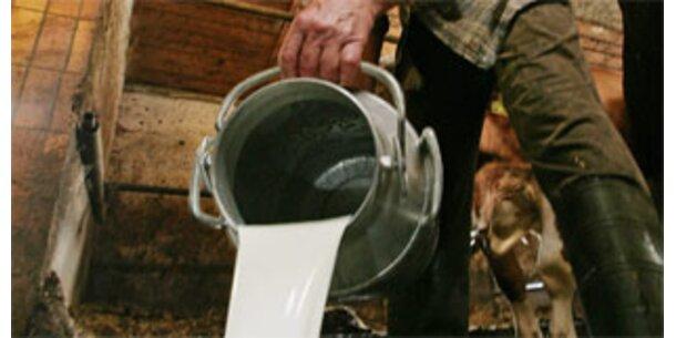 Deutsche Milchbauern drohen mit neuen Protesten