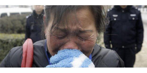 3 Todesurteile im Skandal um Melamin-Milchpulver