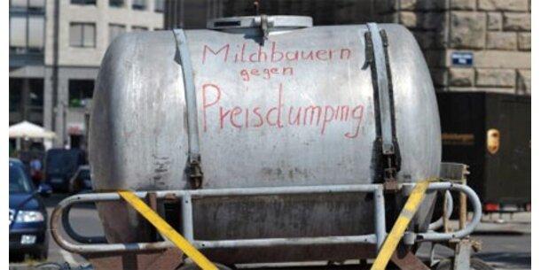 Tausende Milchbauern bei Brennerprotest