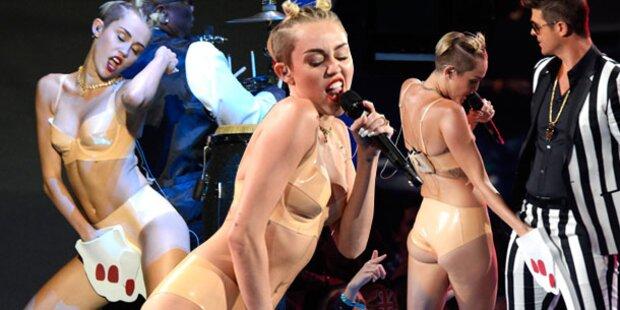 VMAs: Ist Miley Cyrus zu weit gegangen?