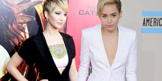 Miley führt Krieg gegen Jennifer Lawrence