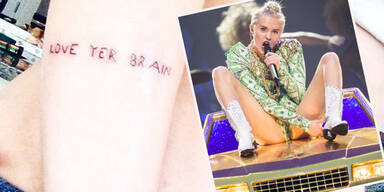 Miley Cyrus: Neues Tattoo kündigt Album